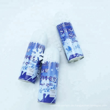 farbiger Schneespray