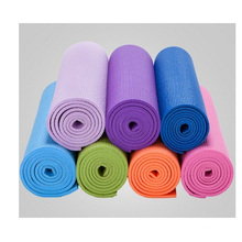 Fornecimento de PVC Yoga Mat, Professional Wholesale Custom Yoga Supplies