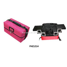 waterproof beauty bag with 4 removable trays inside hot sell manufacturer