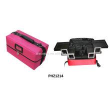 saco impermeável beleza com 4 bandejas removíveis dentro fabricante venda quente