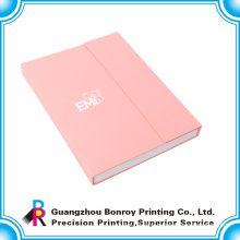 factory price OEM fashion design book shape box with your own logo