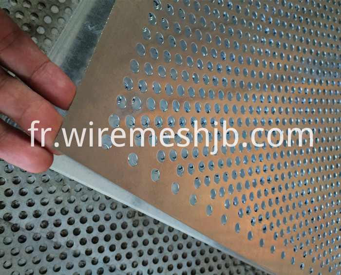 Galvanized Perforated Metal Sheets