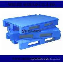 Molde de plataforma plastico rackable de alta calidad