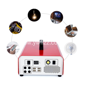500W Portable Outdoor Multifunctional Output Power Supply