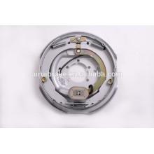 Completo 12''x2 '' conjunto de freio elétrico para reboque (tratamento de superfície de placa traseira: Dacromet)