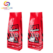 Makanan Grade Zipper Coffee Custom Made Plastic Bags