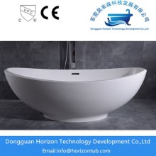 Poly marble solide surface bathtub