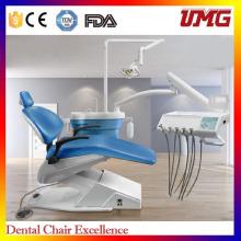 China Dental Stuhl Hersteller Versorgung Dental Ausrüstung Stuhl Einheit