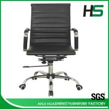 Низкорамный черный подъемный стул H-P01-1M
