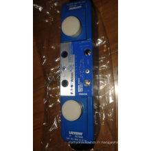 Valve hydraulique dg4v vickers pour machine à moulage par injection hydraulique