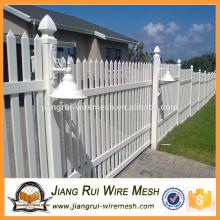 Heißer Verkauf hohe Sicherheit galvanisierte und PVC beschichtete Stahl Palisade Zaun