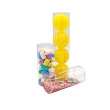 Kundenspezifische durchsichtige Zylinderkästen aus PVC-Kunststoff