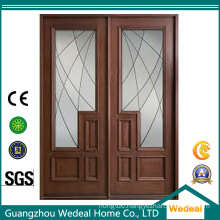 Classic Sliding Door with Glass Panel