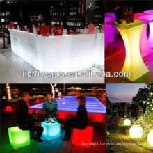 BSCI certified manufacturer Factory Direct sale led color changing furniture