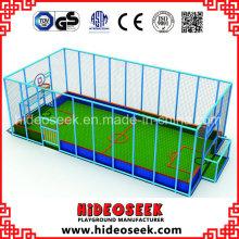 Área de futebol ou basquete coberta