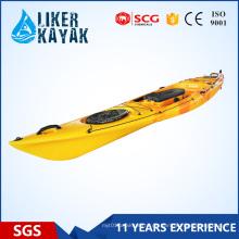 Liker New Single, Double, Sitzen Sie, sitzen auf der Oberseite Plastic Fishing Kayak