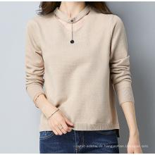 PK18ST098 Halskette Pullover Kaschmir-Pullover für Mädchen
