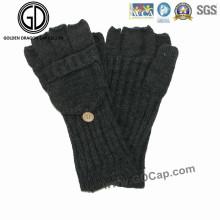 100%Acrylic Fingerless Knitted Warm Glove