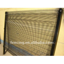 12.7x76.2mm opening of High security Welded Fence for prison (factory)