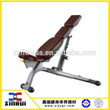 Commerical integrated gym trainer body building Adjustable Bench