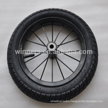 "12.5""x 2.125"" steel rim pneumatic/air rubber wheel"