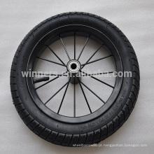 "12,5 ""x 2,125"" aro de aço pneumático / roda de borracha de ar"