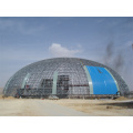 Grande structure de châssis spatial pour hangar de stockage de charbon de dôme (Andy SF001)