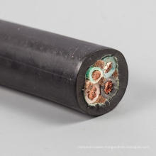 SOOW 4x12 AWG Rubber Cable