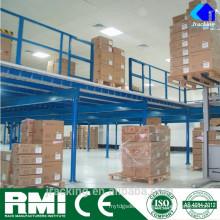 Warehouse Storage Heavy Duty Mezzanine Steel Rack Industrial