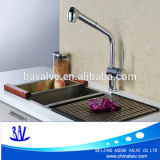 Single Hole Kitchen Faucet Retractable Pull Out Spout Any direction Spray