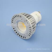 Schnelle Lieferung rohs / ce genehmigt 5w mr 16 cob LED Spot Licht