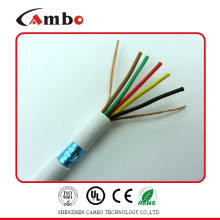 Shenzhen suppliers multi pairs stranded cca/ccs/bc/ofc wire 6 core shield