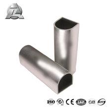 Profilé moderne en aluminium allié de Chine 6063 durable demi-rond