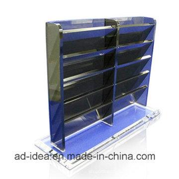 Suporte de exposição acrílico preto / suporte da exposição para a loja