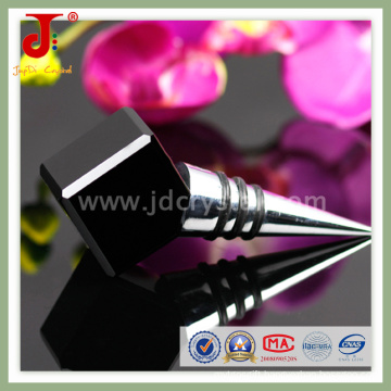 Hot Selling Wedding Decoration Square Crystal Wine Stopper