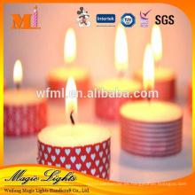 Fabrique la vela religiosa viva hecha a mano personalizada nueva hecha a mano popular