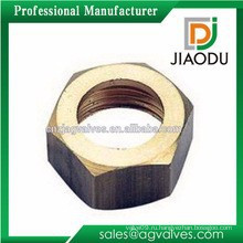 Индивидуальный никелевый цвет cw617n кованый высококачественный латунный прецизионный винт и гайки