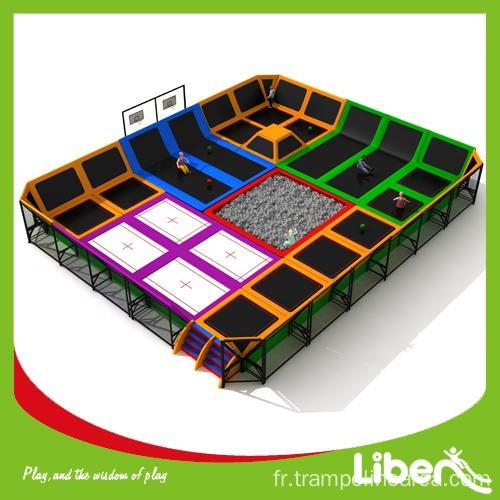parc de trampolines d 39 int rieur commercial. Black Bedroom Furniture Sets. Home Design Ideas