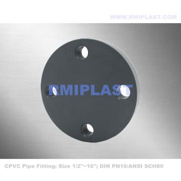 CPVC глухой фланец DIN PN16