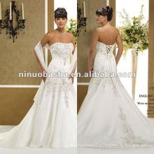 Вышивки С Плеча Свадебное Платье
