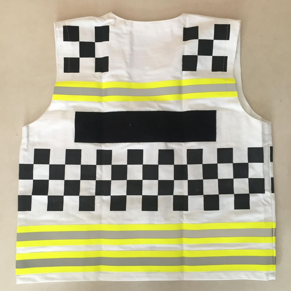 Fire Resistance reflective safety vest with squares
