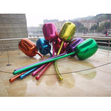 Large Size Abstract Stainless Steel Balloon Sculpture