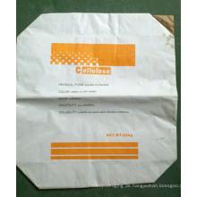 25kg Cellulose Kraftpapier Valve Bag