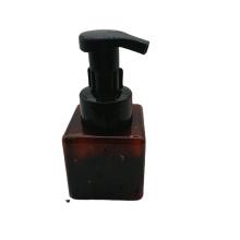 High Quality clear pink brown blue dark green  250ml foam pump square bottle
