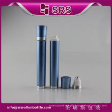 SRS China empty eye cream vibrating roller ball bottle for sale