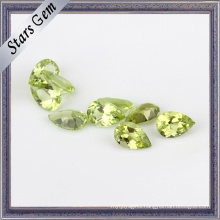 Top-Grade Pear Shape Natural Peridot Gemstone