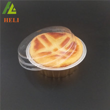 New design clear plastic cake box with lid