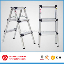 escalera del taburete del hogar, taburete del almacén, escalera de mano de aluminio