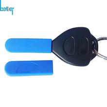 Couvercle de porte-clés en caoutchouc à distance d'entrée sans clé en silicone