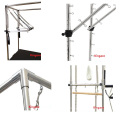 Hight Quality Pilates Equipment Wall Units with 3 Set Springs